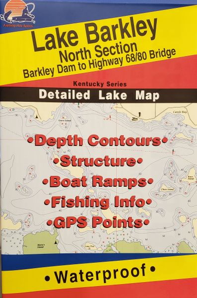 Kentucky Lake Map